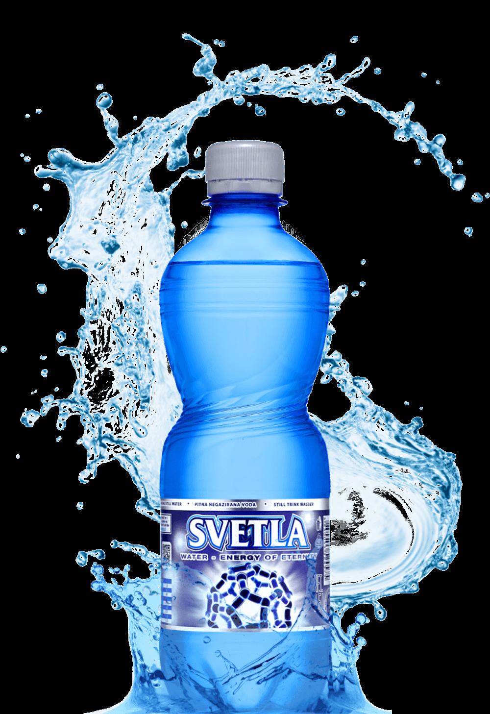 Bottle water png. Variety of bottled svetla