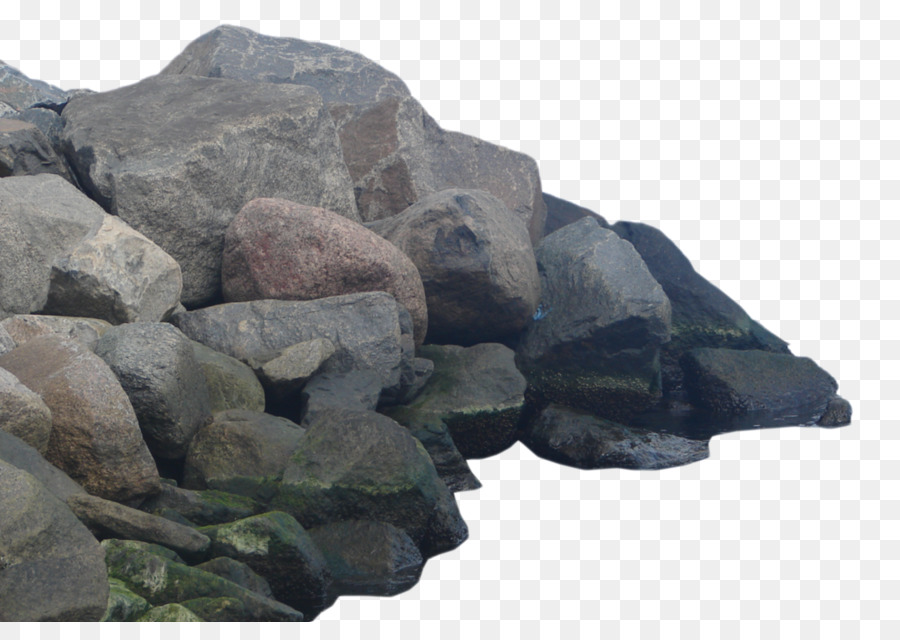 Rock stone photos png. Boulder clipart aggregate