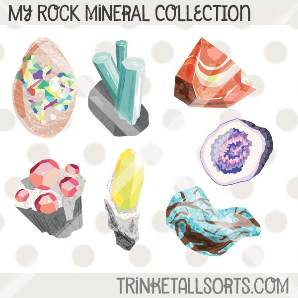 Boulder clipart batu. My rock mineral collection