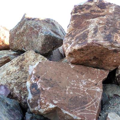 Boulder clipart beach rock. Products southwest stone baja
