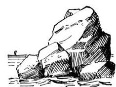 Ever had trouble drawing. Boulder clipart big rock