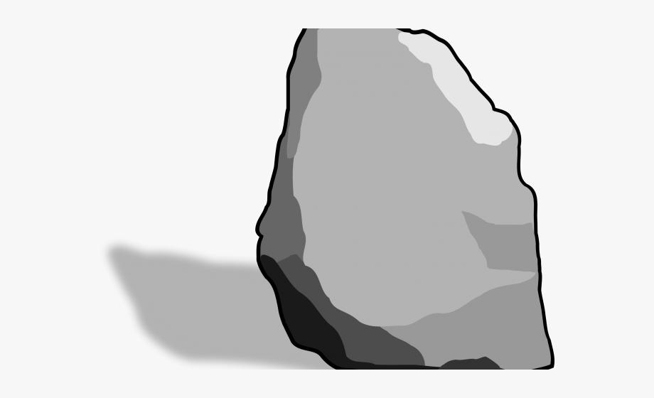 Boulder clipart big rock. Stone free transparent