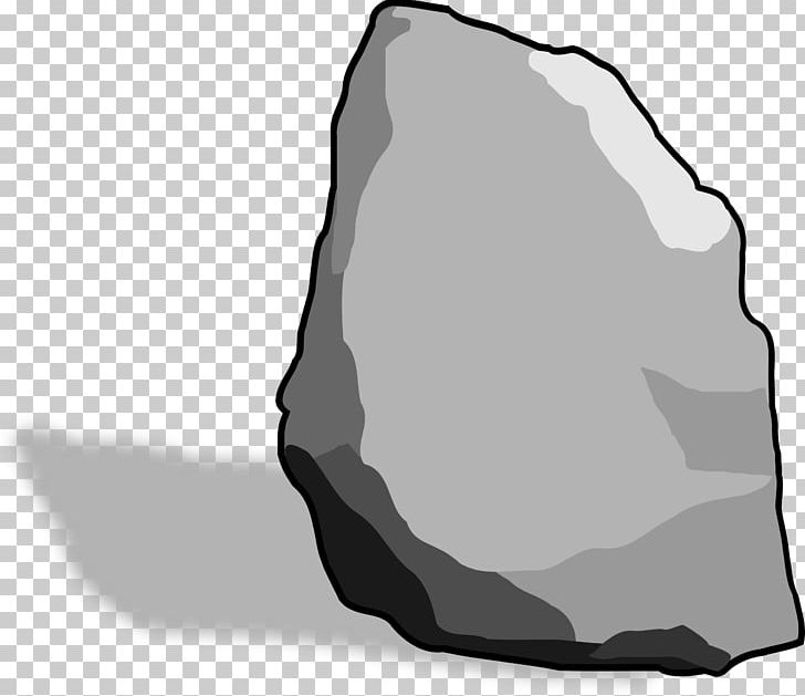 Boulder clipart black and white. Rock free content png