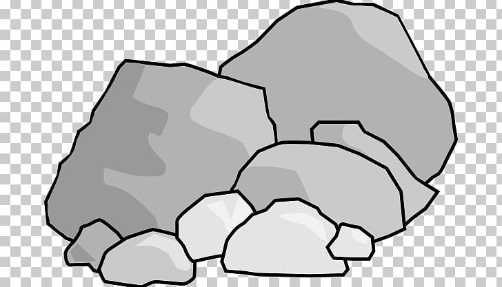 Rock free content png. Boulder clipart black and white