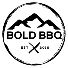 Bbq catering quality crafted. Boulder clipart bold