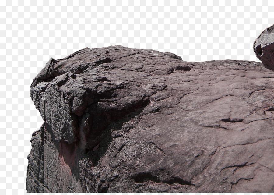 boulder clipart brown rock