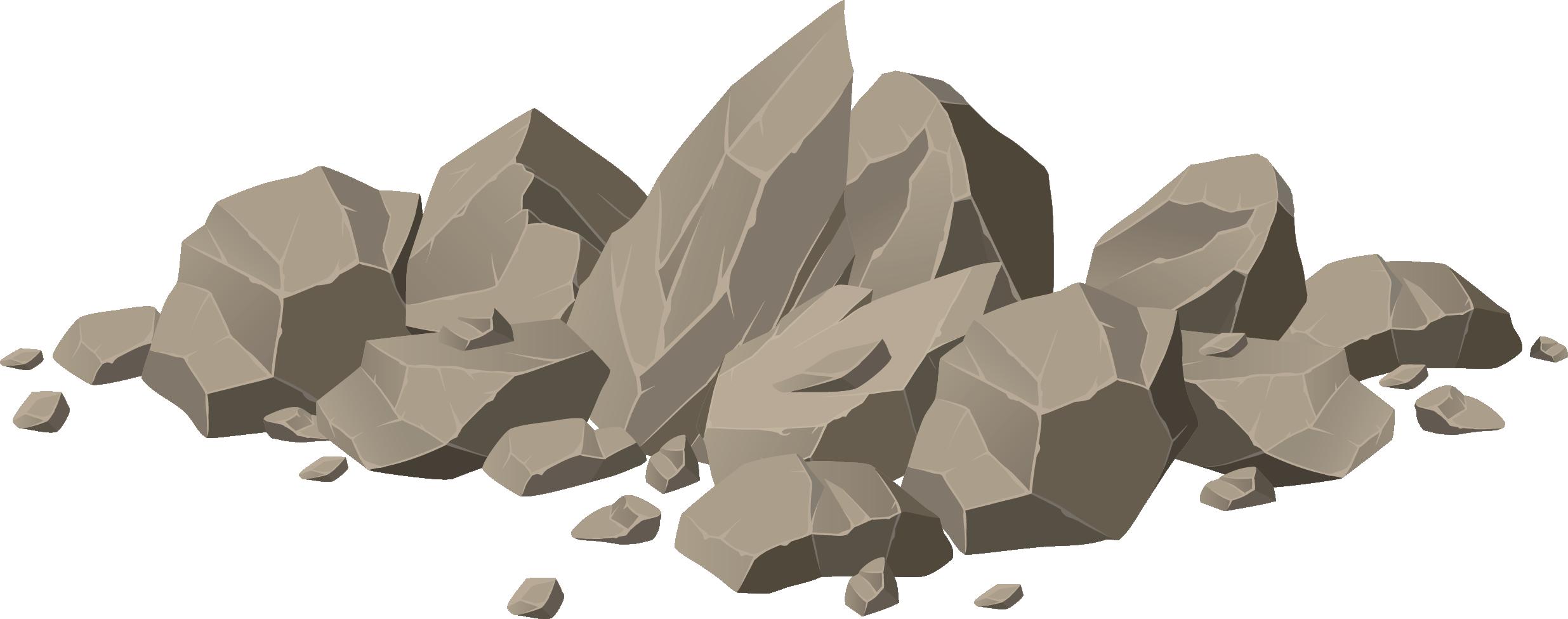 Royalty free illustration stone. Boulder clipart brown rock