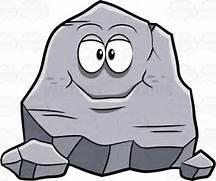 Boulders cartoon rocks clipartfox. Boulder clipart cute
