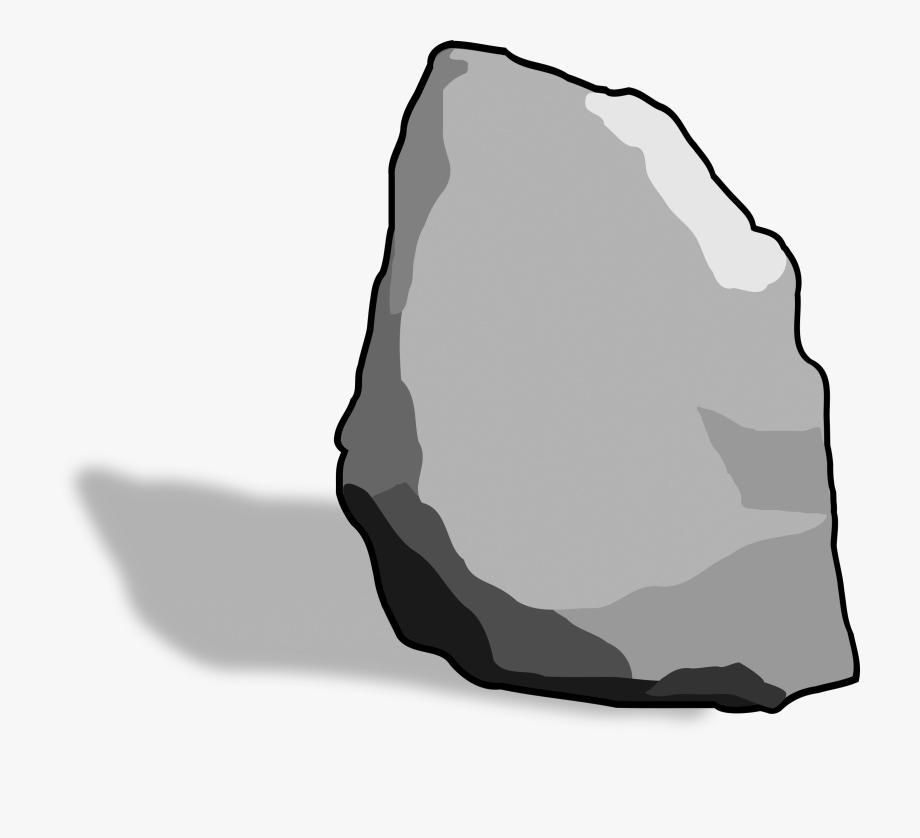 Boulder clipart hard stone. Clip art on rocks