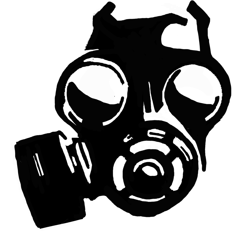 Boulder clipart heavy object. Skull gas mask best