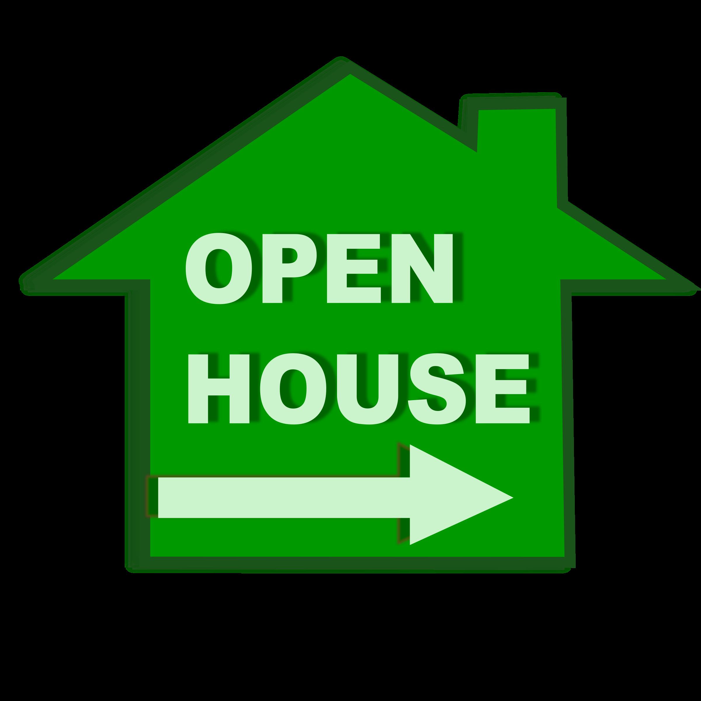 Open house big image. Boulder clipart icon