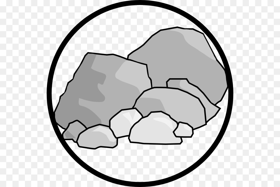 Rock computer icons pebble. Boulder clipart icon