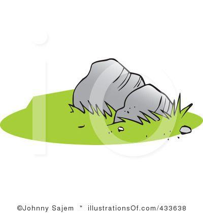 Clipaer rocks royalty free. Boulder clipart illustration