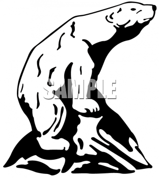 Boulder clipart line. Black and white picture