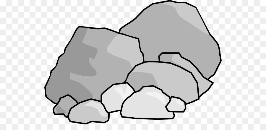 Boulder clipart line. Rock free content clip