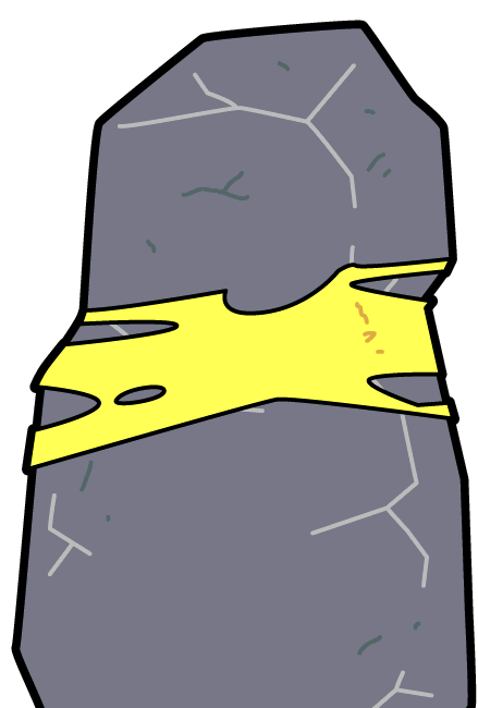 Morty rick and wiki. Boulder clipart moon rock
