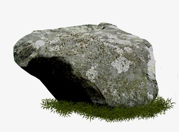 Sea stone rock png. Boulder clipart ocean
