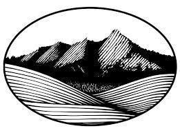 boulder clipart outline