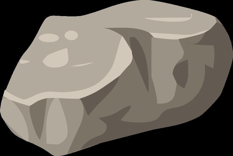 Boulder clipart pile rock. Boulders cartoon stock vector