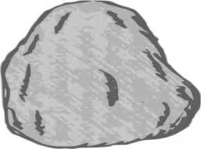 Stone clipground similiar clip. Boulder clipart pile rock