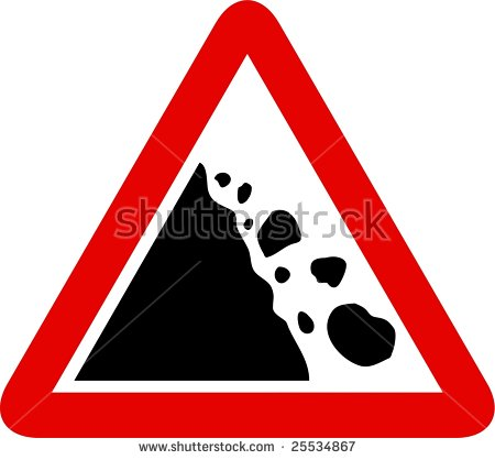Coal falling pencil and. Boulder clipart pile rock