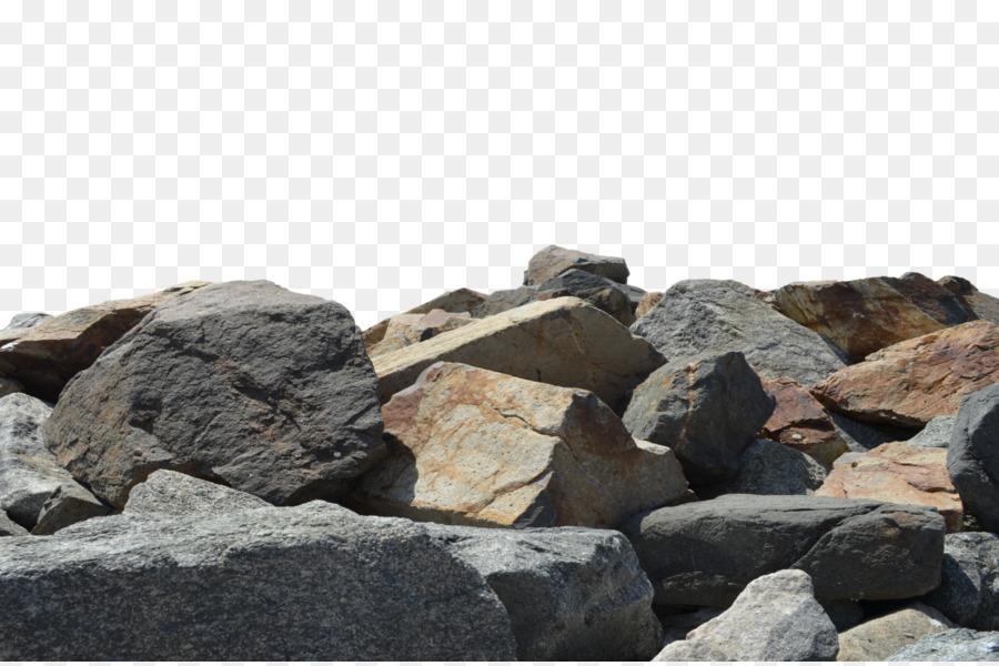 T shirt rock stock. Boulder clipart pile rubble