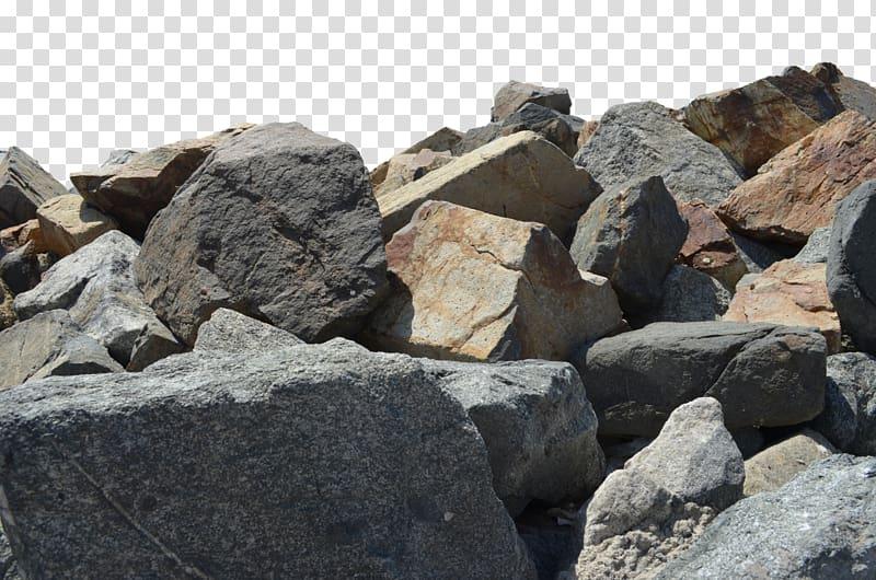 Stone wall rock stones. Boulder clipart pile rubble