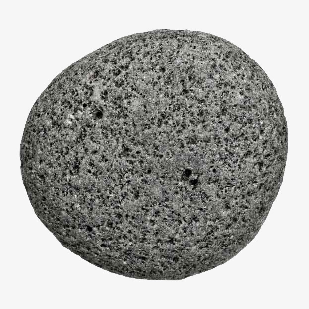 Picture material dark gray. Boulder clipart round stone