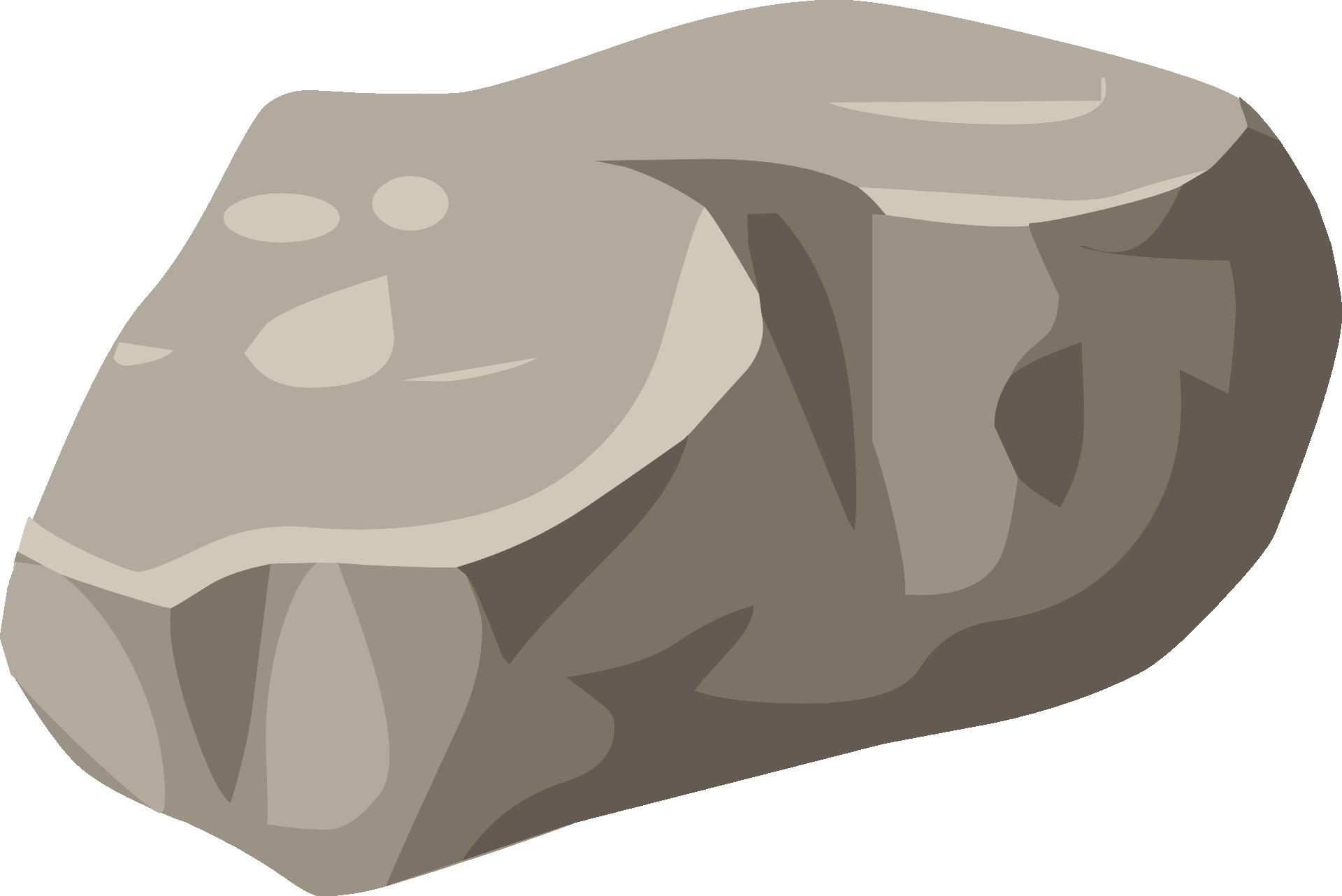 Boulder clipart round stone. Rock nature granite template