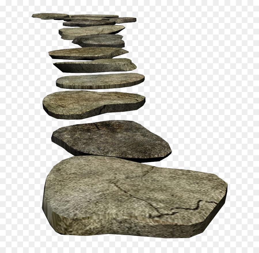 Rock clip art path. Boulder clipart round stone