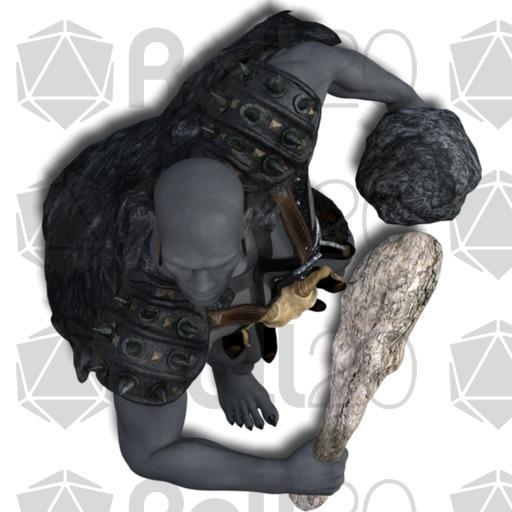 Boulder clipart round stone. Darkwoulfe s token pack