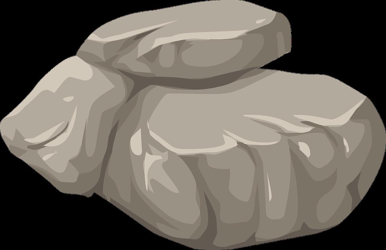 Boulder clipart round stone. Rock clip art stones