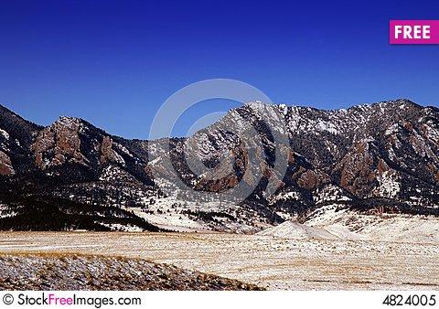Flatiron mountains free stock. Boulder clipart scenery