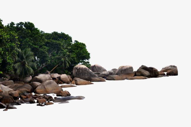 River stone riverside png. Boulder clipart scenery