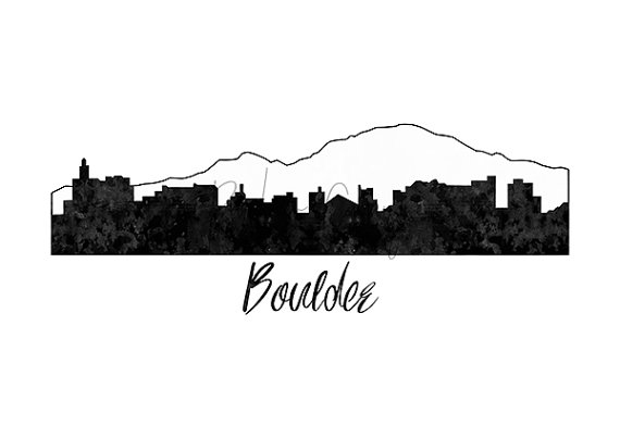 City drawing at getdrawings. Boulder clipart silhouette