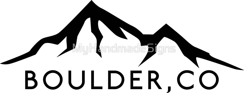 Boulder clipart silhouette. Mountain logo at getdrawings