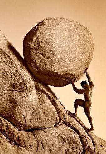 The narcissistic continuum sandra. Boulder clipart sisyphus