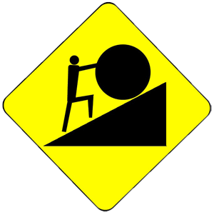And that damn rolling. Boulder clipart sisyphus