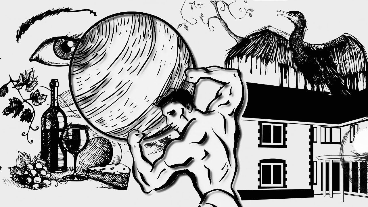 Boulder clipart sisyphus. Suicide the myth of