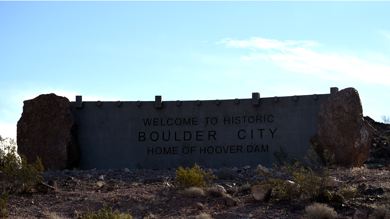 The history of city. Boulder clipart soil