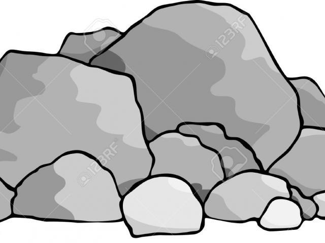 Free boulders download clip. Boulder clipart stack rock