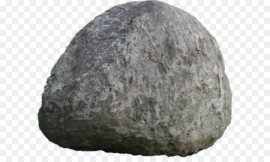 Rock clip art stone. Boulder clipart transparent