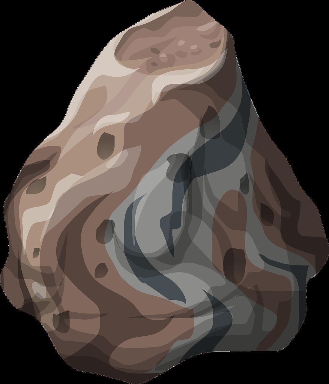 Boulder clipart underwater. Stone rock solid heavy