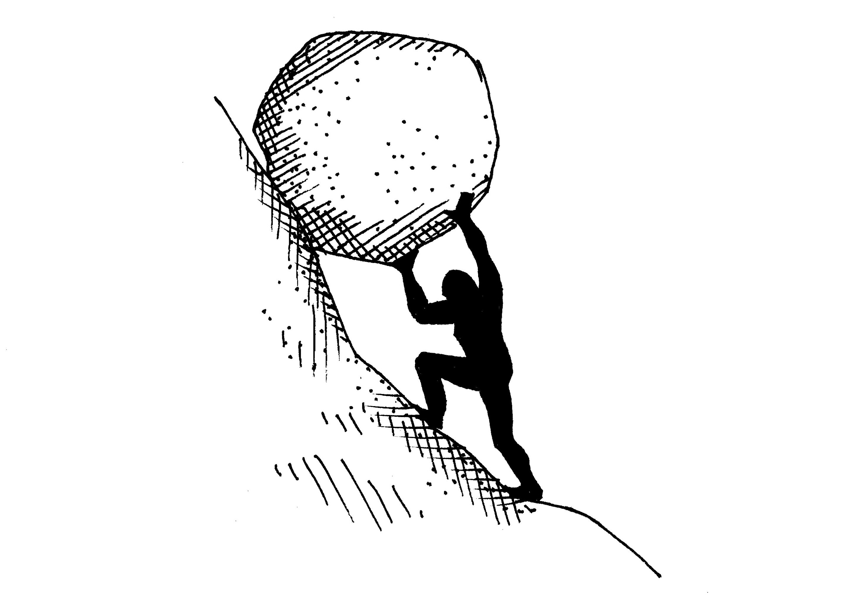 Fruitility or why evaluations. Boulder clipart uphill