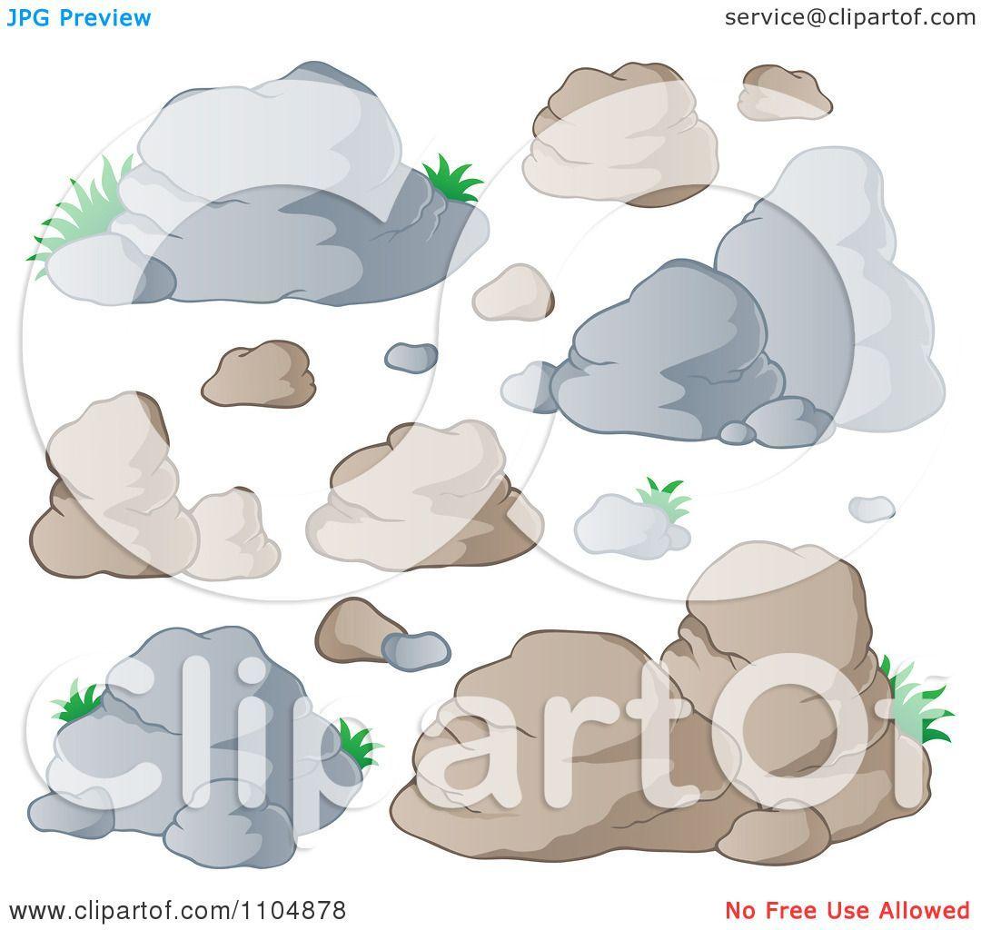 Boulder clipart uphill. Boulders clip art rocks