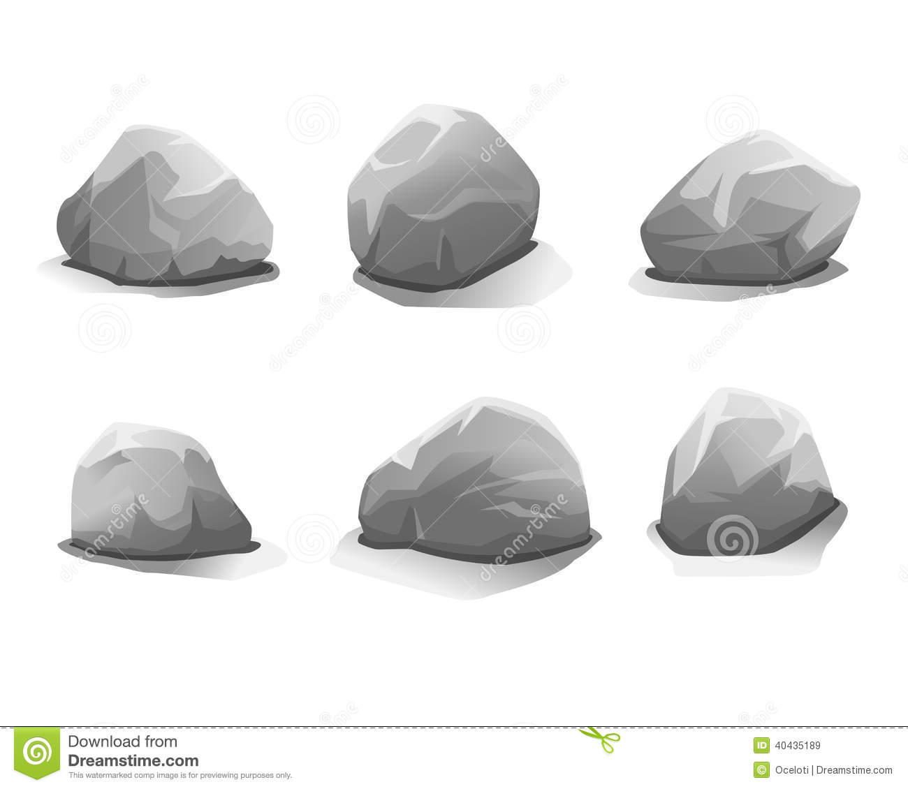 Boulder clipart vector. Rubble pencil and in