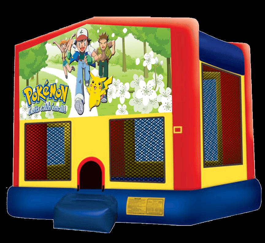 Bounce house png. Pokemon bb houses jumper