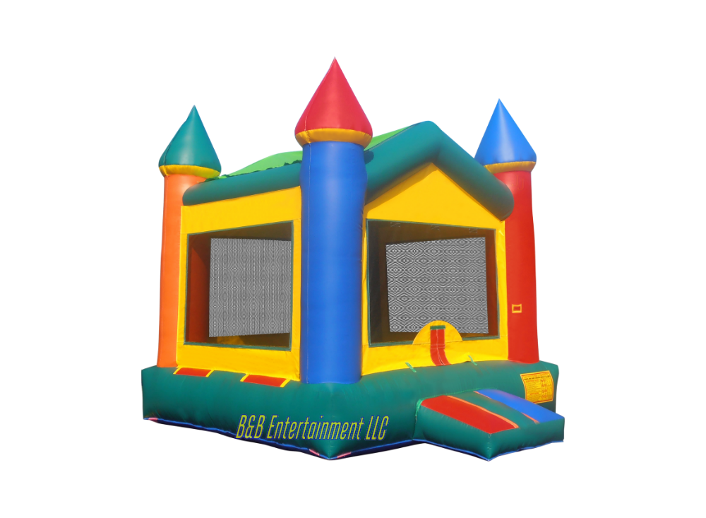 V roof castle ii. Bounce house png