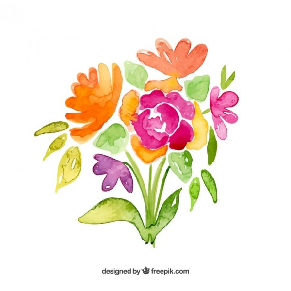 Bouquet clipart. Free flower cliparts download