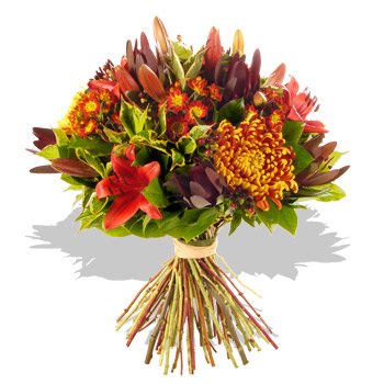 . Bouquet clipart autumn